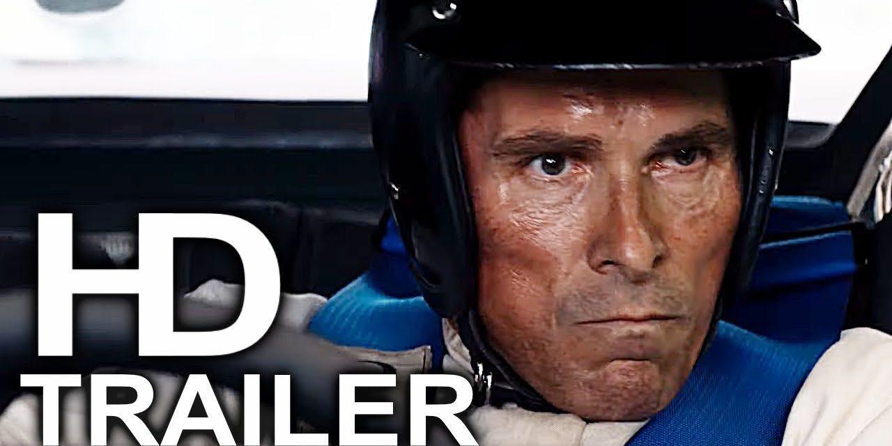 FORD VS FERRARI Trailer #1 NEW (2019) Christian Bale, Matt Damon Action Movie HD