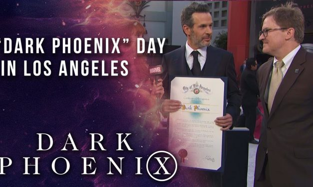 """Los Angeles declares """"Dark Phoenix Day"""" LIVE from the Red Carpet"""
