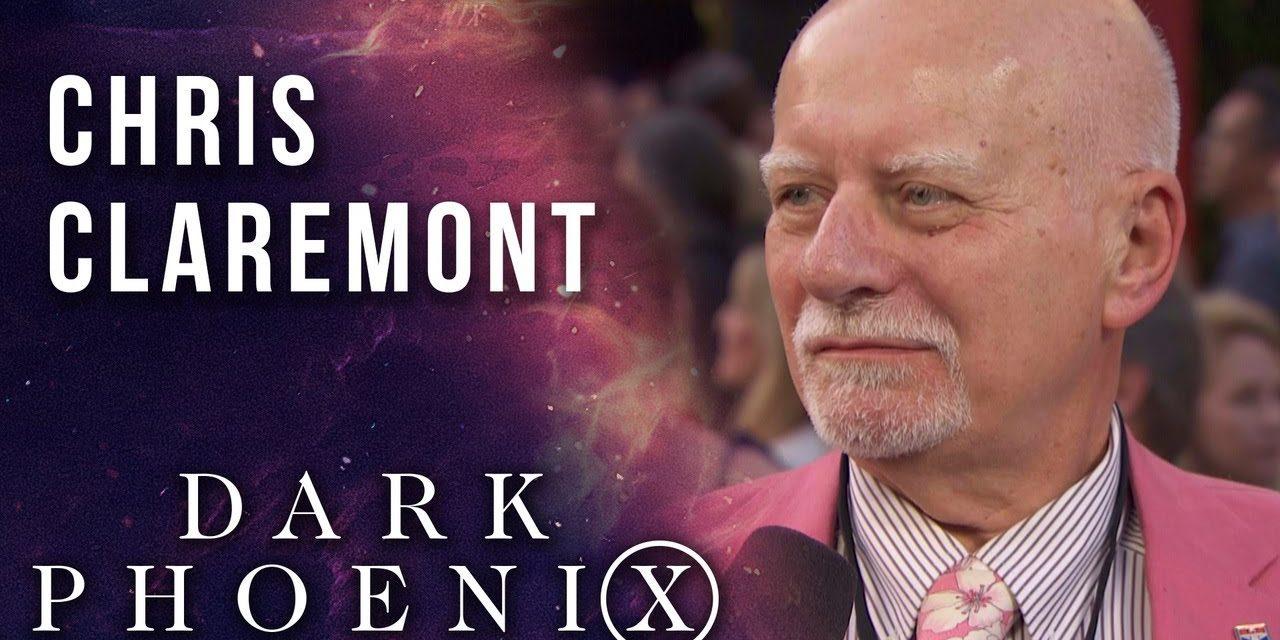 Legendary X-Men writer Chris Claremont at the X-Men: Dark Phoenix world premiere!