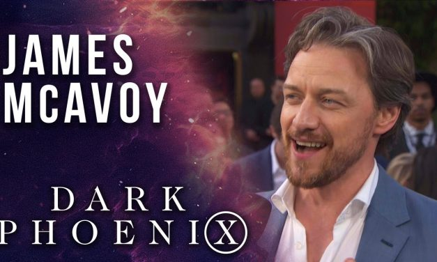 James McAvoy talks Professor Xavier's journey LIVE from the X-Men: Dark Phoenix Premiere