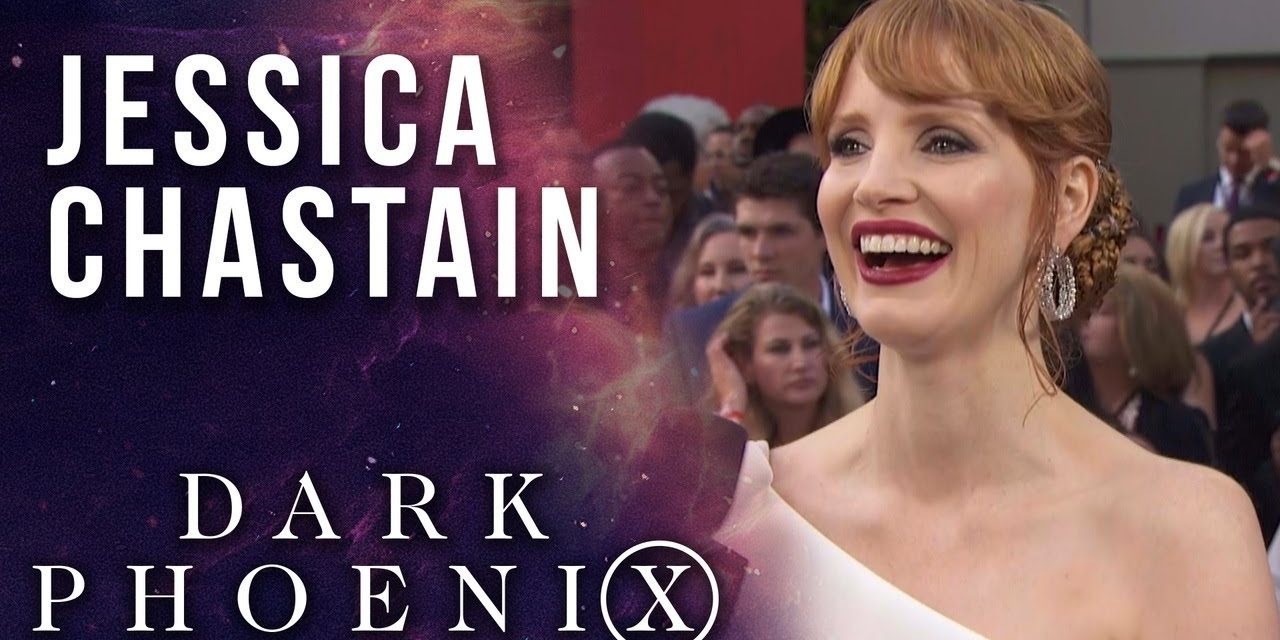 Jessica Chastain on joining the X-Men universe LIVE from X