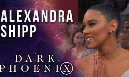 Alexandra Shipp on Storm and strong female Super LIVE from the X-Men: Dark Phoenix Premiere