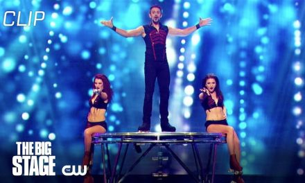 The Big Stage | Incredible Moves, Spins and Balance Scene | The CW