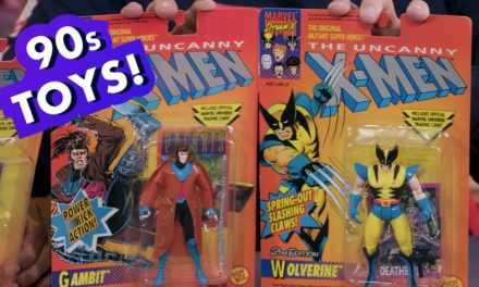 4 Totally Awesome 90s Marvel Toys featuring X-Men & More! | Earth's Mightiest Show