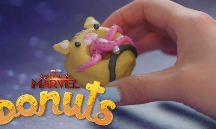National Donut Day: Captain Marvel & Flerken Donuts!