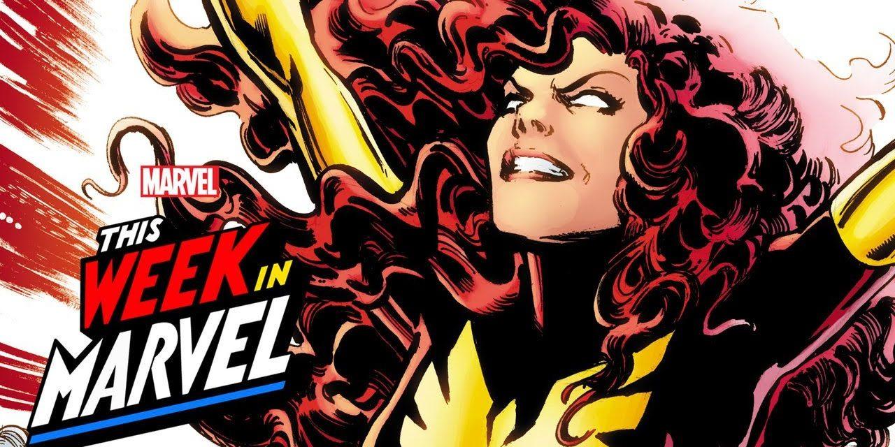 Jean Grey as the Phoenix   This Week in Marvel