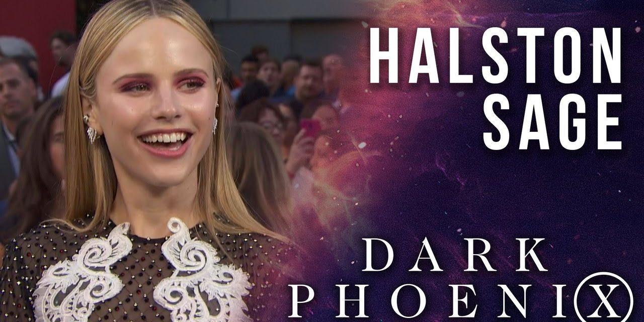 Halston Sage LIVE from the X-Men: Dark Phoenix Premiere