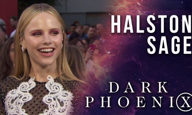 Halston Sage LIVE from the X-Men: Dark Phoenix Premiere