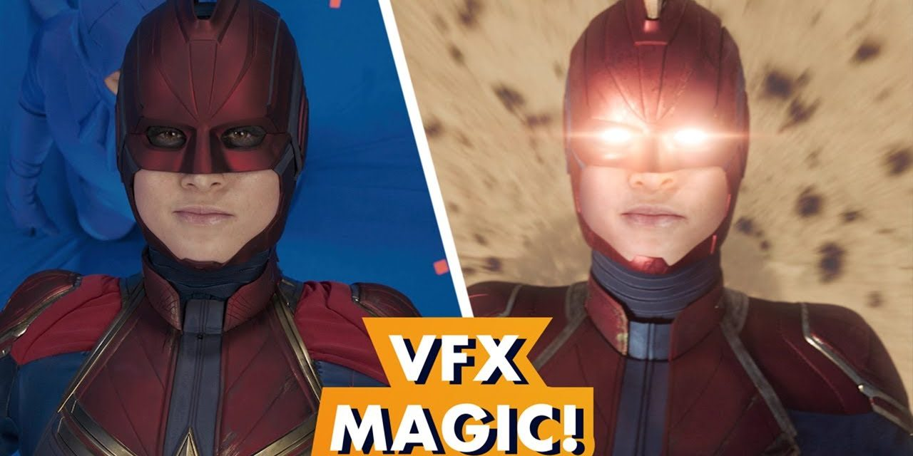 Marvel Studios' 'Captain Marvel' Visual Effects Magic   Earth's Mightiest Show