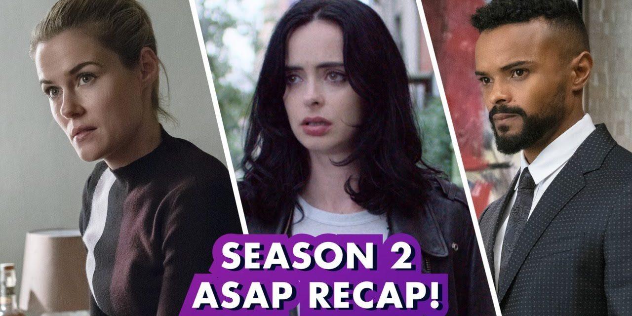 Marvel's Jessica Jones Season 2 in under 4 minutes!   Earth's Mightiest Show