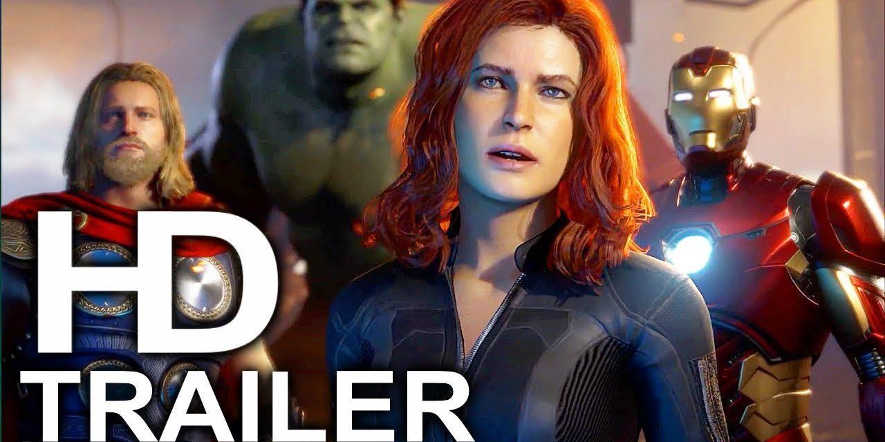 AVENGERS Game Trailer #1 NEW (2019) Iron Man Captain America Marvel Superhero HD