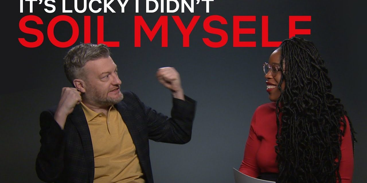 Charlie Brooker On Black Mirror Easter Eggs, Uber Ratings and Peppa Pig In His Netflix IX Interview