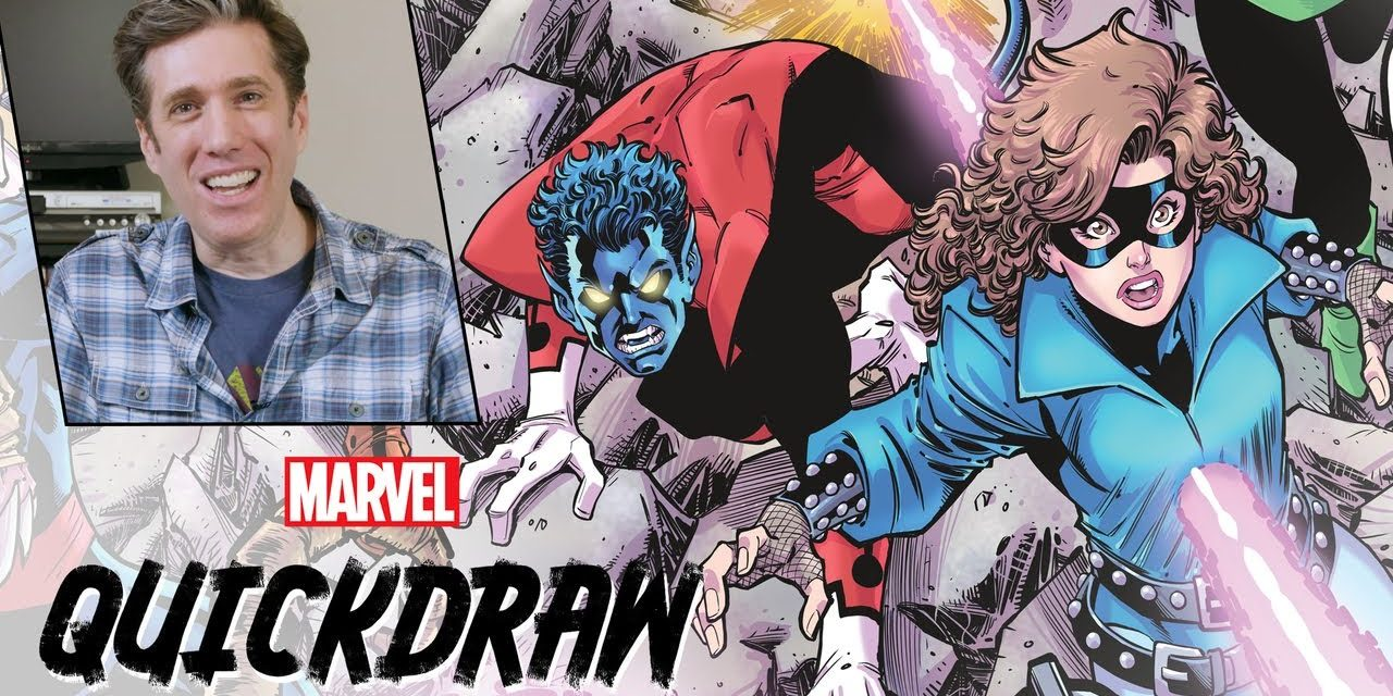 Drawing the '80s X-Men with Todd Nauck   Marvel Quickdraw