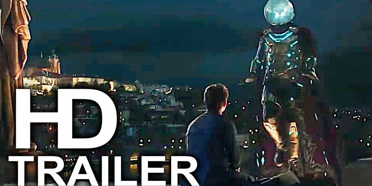 SPIDER-MAN FAR FROM HOME Mysterio Becomes Avenger Scene Clip + Trailer (2019) Superhero Movie HD