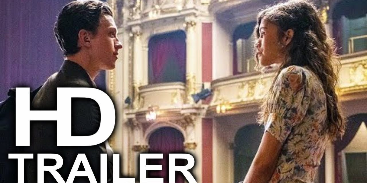 SPIDER-MAN FAR FROM HOME Peter & Mary Jane Date Night Scene Clip + Trailer (2019) Superhero Movie HD