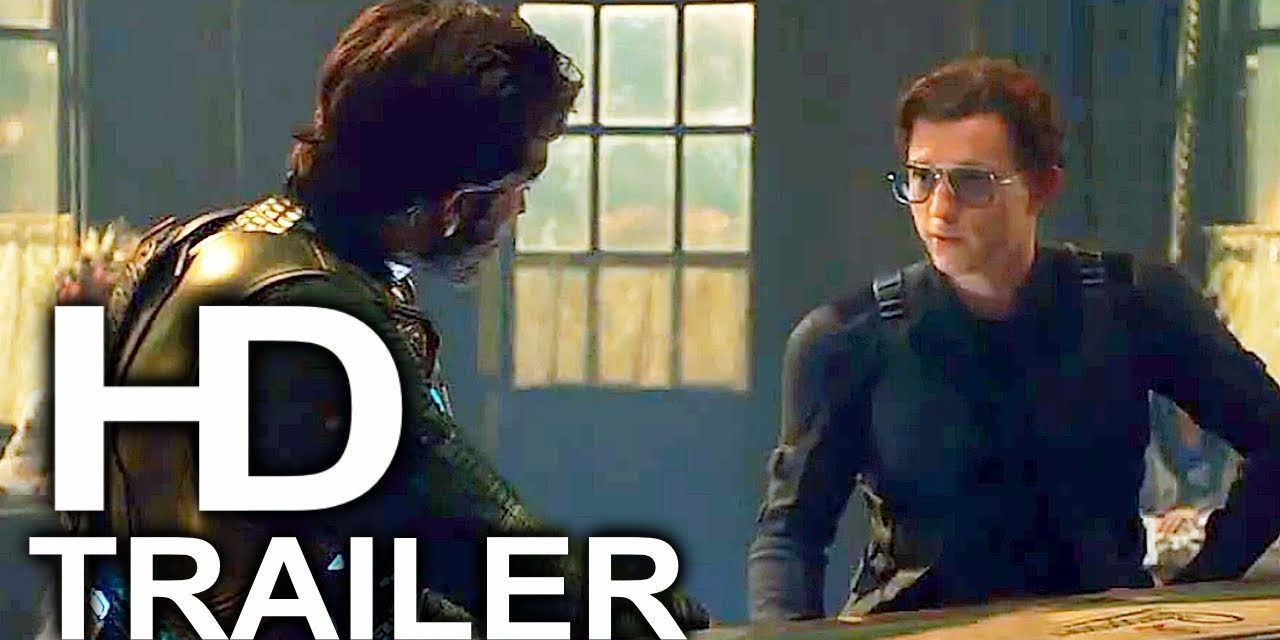 SPIDER-MAN FAR FROM HOME Peter Destroys Mysterio With New Glasses Trailer (2019) Superhero Movie HD