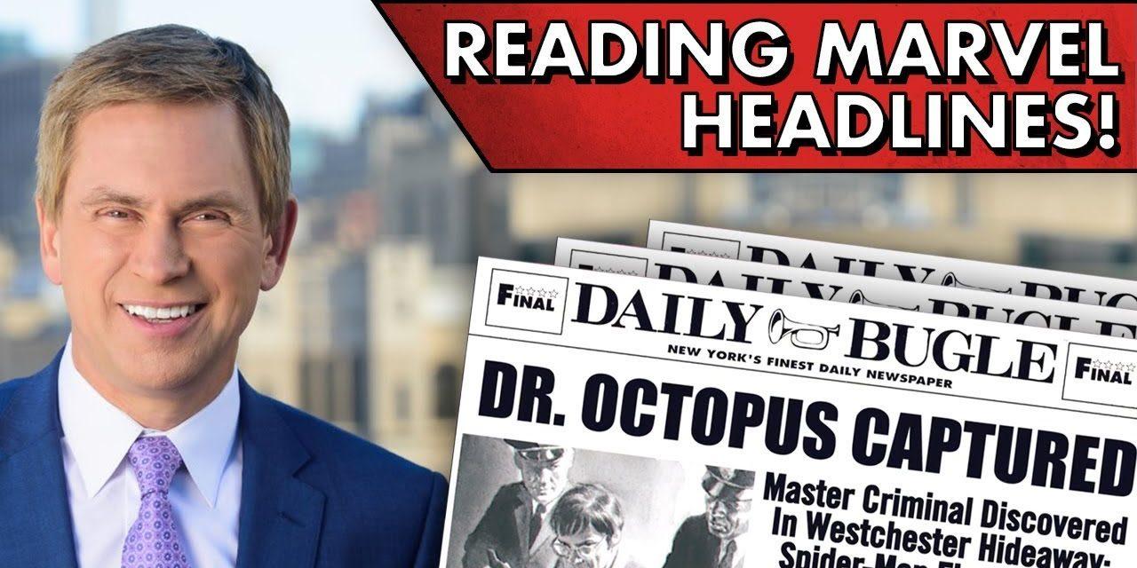 MCU Newscaster Reads Marvel Headlines!