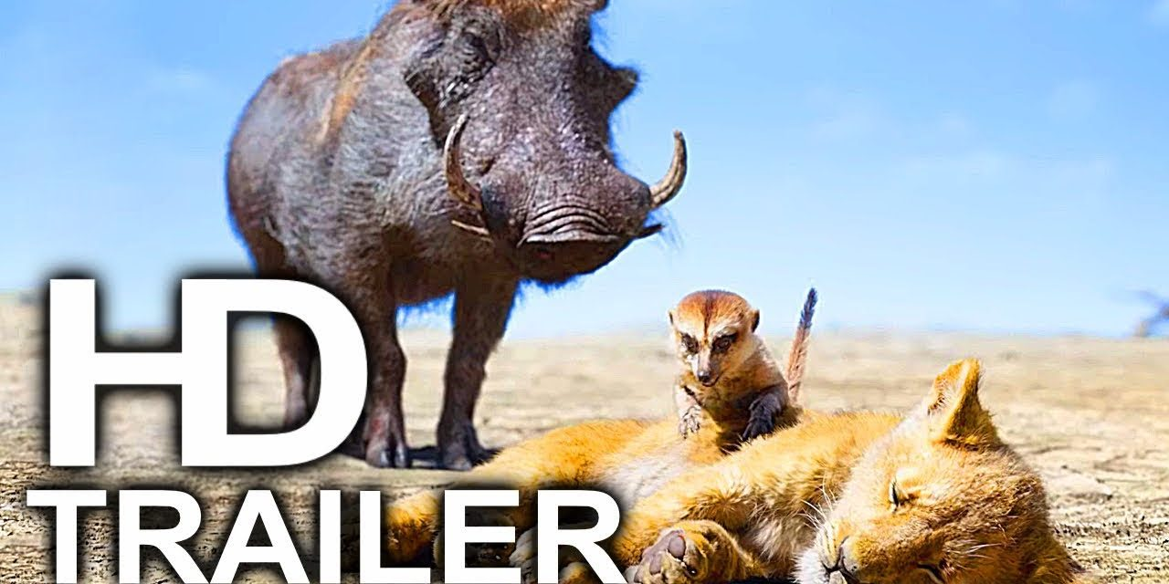 THE LION KING Timon And Pumbaa Rescue Simba Scene Clip + Trailer (2019) Disney Live Action Movie HD