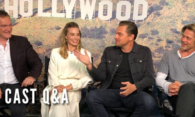 ONCE UPON A TIME IN HOLLYWOOD – Cast Q&A