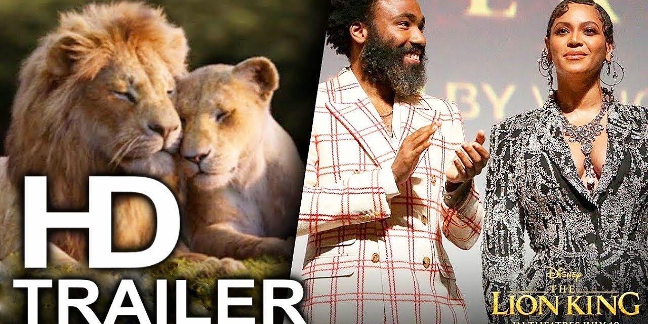 THE LION KING Voice Actors Cast Trailer Beyonce & Donald Glover (2019) Disney Live Action Movie HD