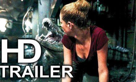 CRAWL Giant Alligator Attack Fight Scene Clip + Trailer (2019) Alligator Hurricane Horror Movie HD