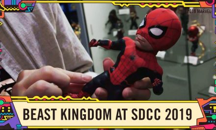 90s Wolverine, Cyclops and more from the Beast Kingdom booth at SDCC 2019!