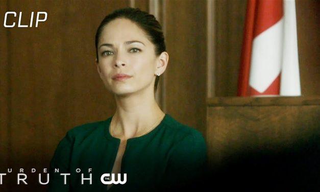 Burden Of Truth | The Right Road Scene | The CW