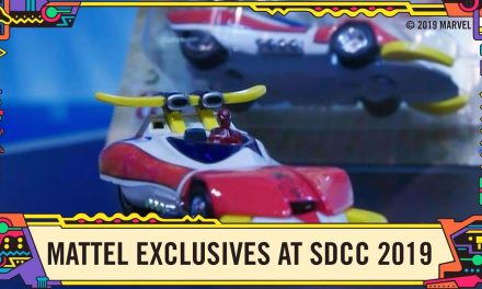 Marvel Hot Wheels exclusives at the Mattel Booth at SDCC 2019!