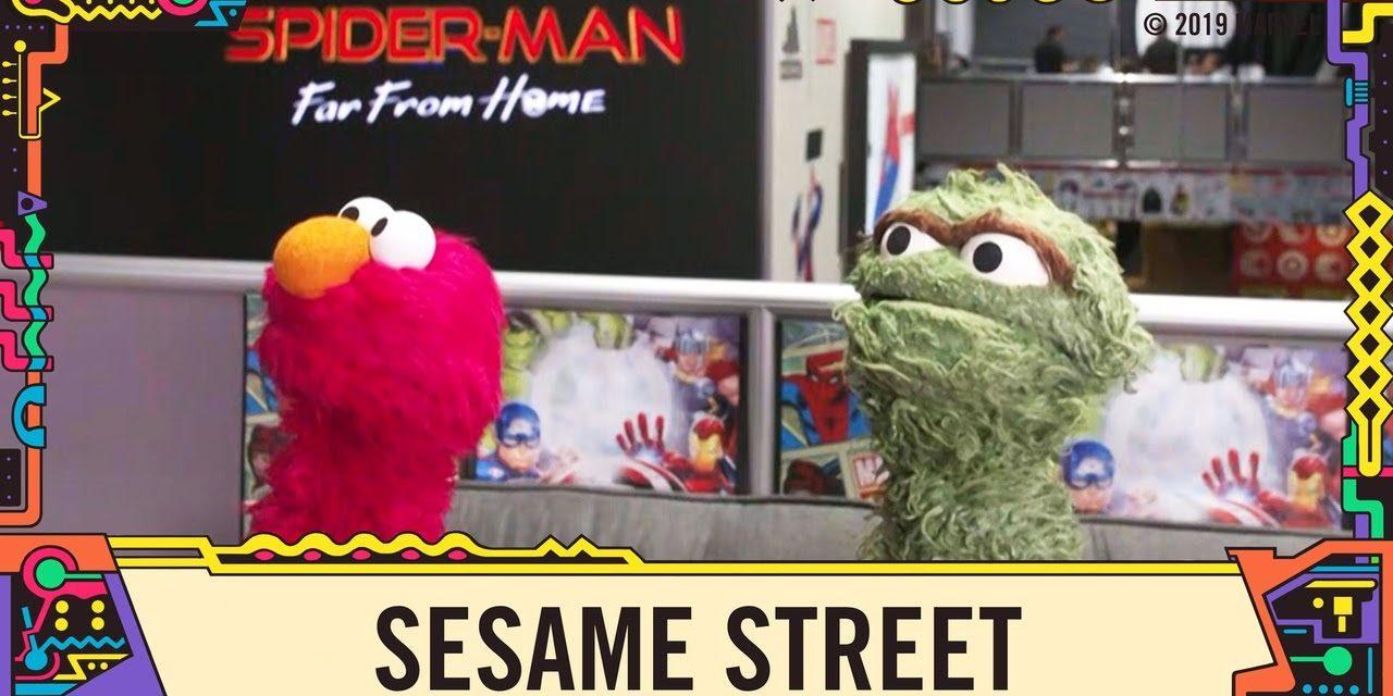 Sesame Street at Marvel LIVE from SDCC 2019!