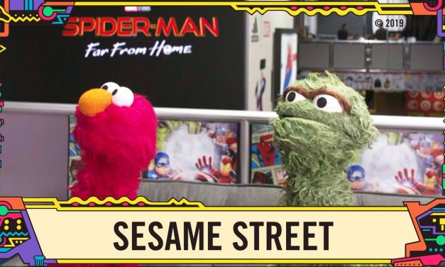 Sesame Street at Marvel LIVE from SDCC 2019!