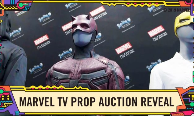 Marvel Television Prop Store Auction Items Revealed at SDCC 2019!