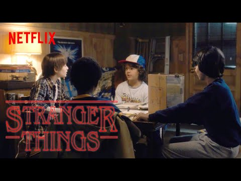 The First-Ever Scene From Stranger Things | Netflix