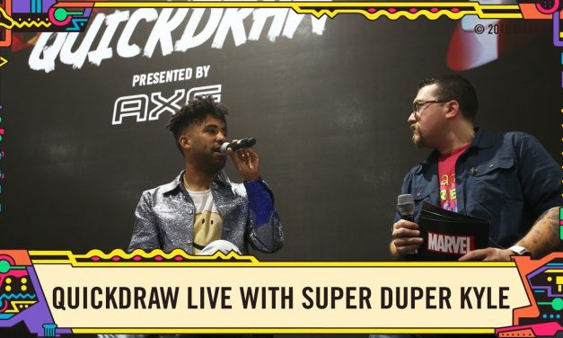Marvel Quickdraw LIVE with AXE's The Fresh-Men @ SDCC 2019