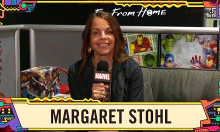 Comic Writer Margaret Stohl talks Captain Marvel at SDCC 2019!