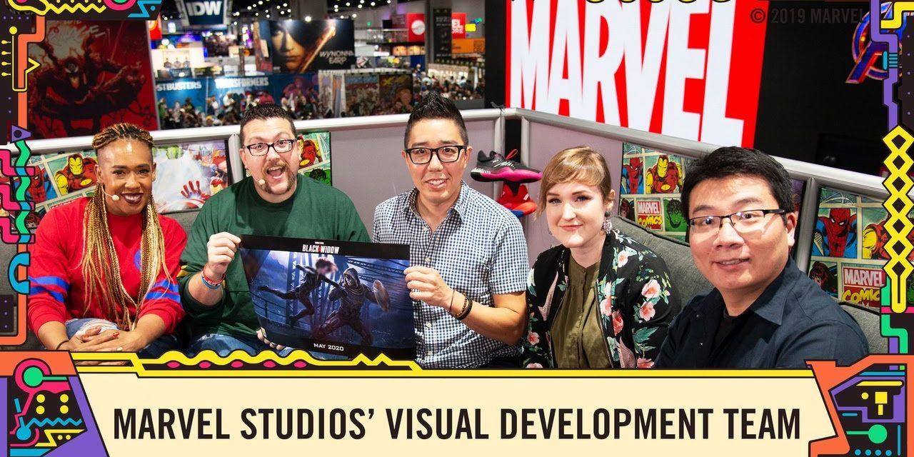 Marvel Studios' Visual Development Team on creating the look of Black Widow