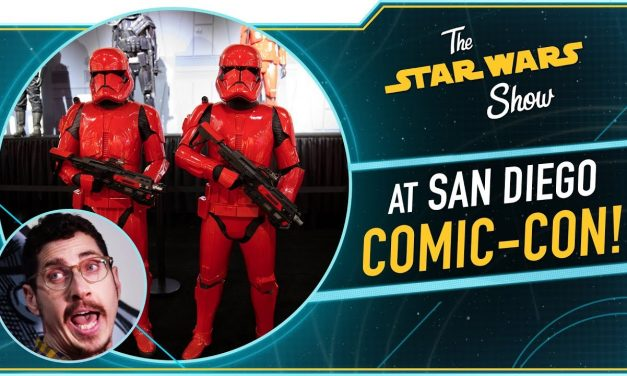 We Brushed Kylo Ren's Hair at San Diego Comic-Con