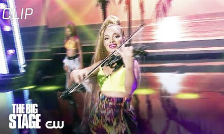 The Big Stage | Rocking The Classics, Hip Hop, And Aerial Rope Spin Scene 1 | The CW