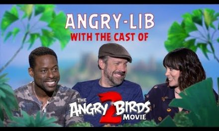 THE ANGRY BIRDS MOVIE 2 – Angry-Libs with the Cast!