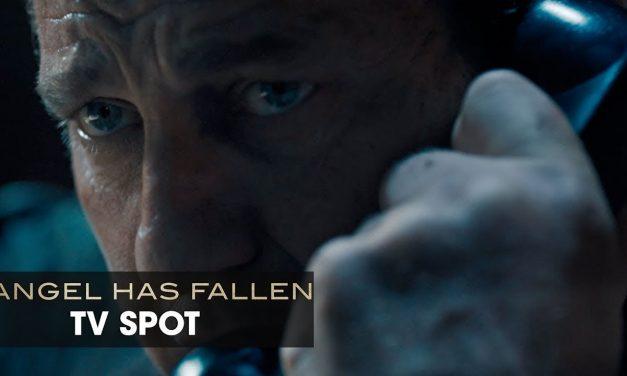 "Angel Has Fallen (2019 Movie) Official TV Spot ""Collect Call"" — Gerald Butler, Morgan Freeman"