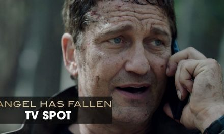 "Angel Has Fallen (2019 Movie) Official TV Spot ""Beware"" — Gerald Butler, Morgan Freeman"