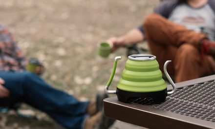 Awesome Tech You Can't Buy Yet: Collapsible coffee kettles and tiny robotic arms