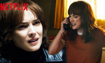 Just Joyce Byers Losing Her Sh*t For 4 Minutes Straight | Stranger Things | Netflix