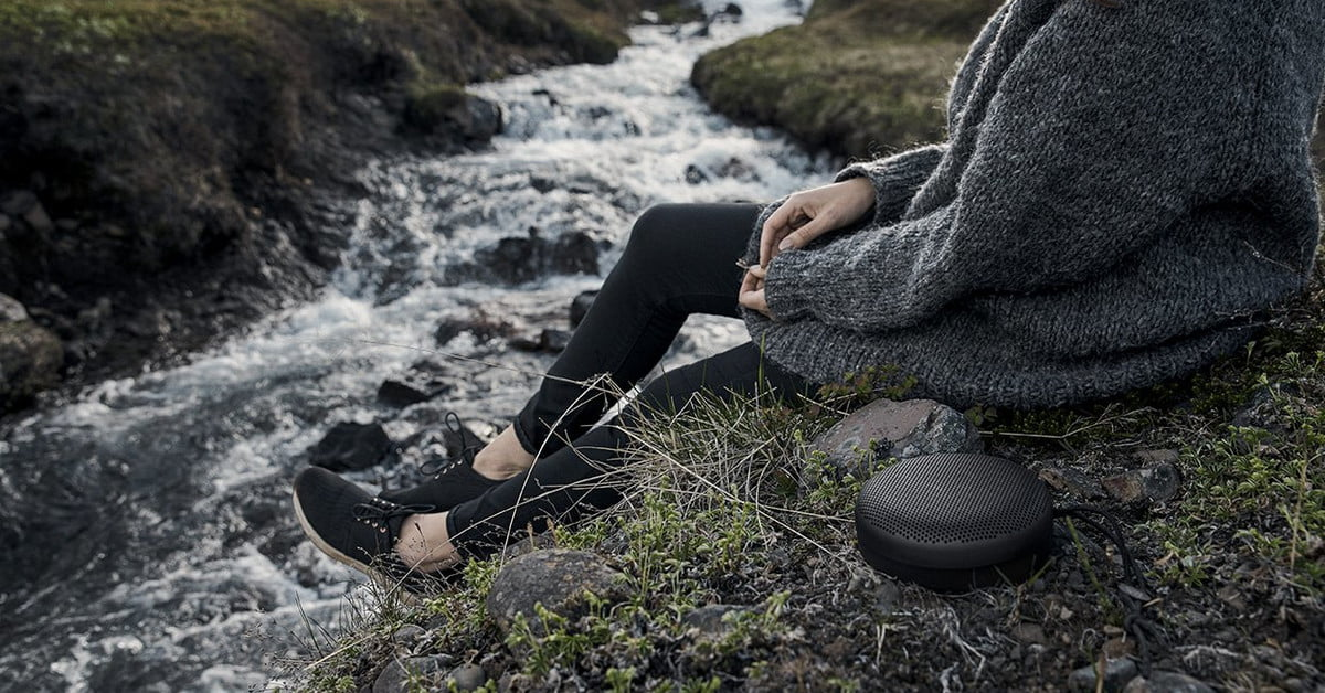 Listen to music in style with Bang & Olufsen's Beoplay A1 Bluetooth speaker