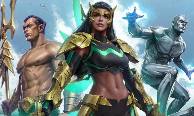 Marvel Future Fight: Wave, Namor, and Silver Surfer Join Battle