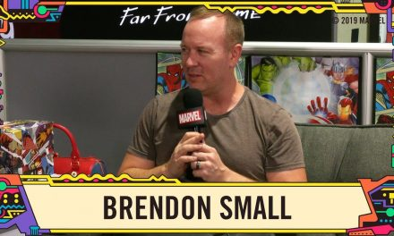 Brendon Small talks the anniversary of Home Movies, performing with Dethklok, and More @ SDCC 2019!