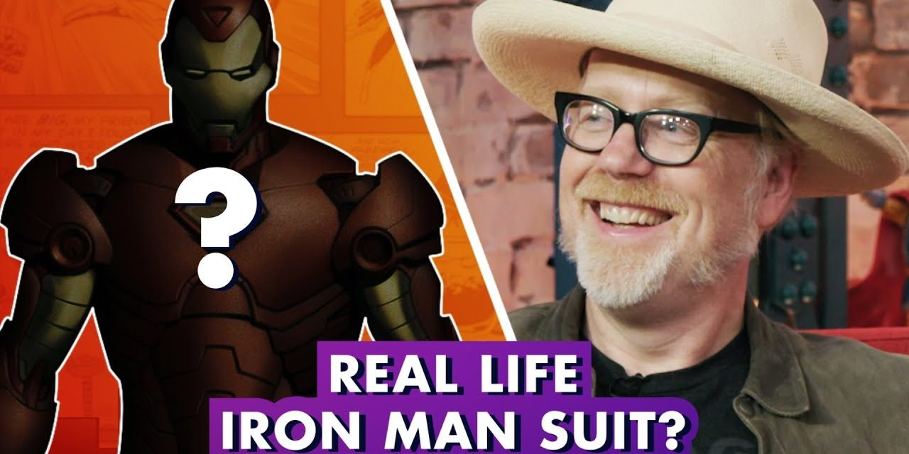 Adam Savage Makes REAL Iron Man Armor   Earth's Mightiest Show