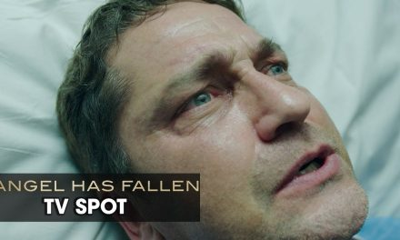 "Angel Has Fallen (2019 Movie) Official TV Spot ""Guardian"" — Gerard Butler, Morgan Freeman"