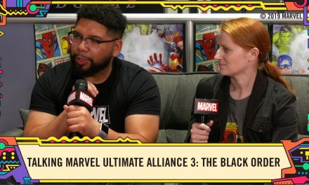 Creating a team in MARVEL ULTIMATE ALLIANCE 3: The Black Order @ SDCC 2019