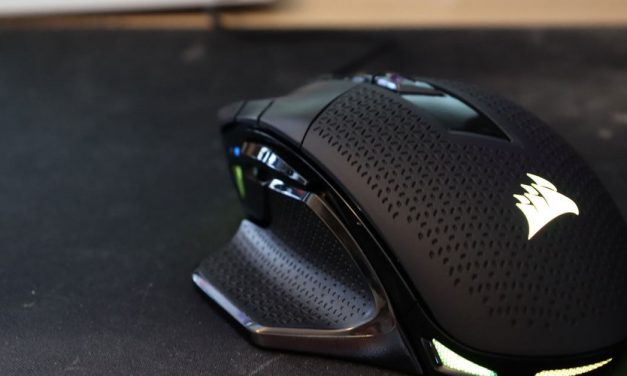 Have big hands? The Corsair Night Sword RGB is the gaming mouse for you