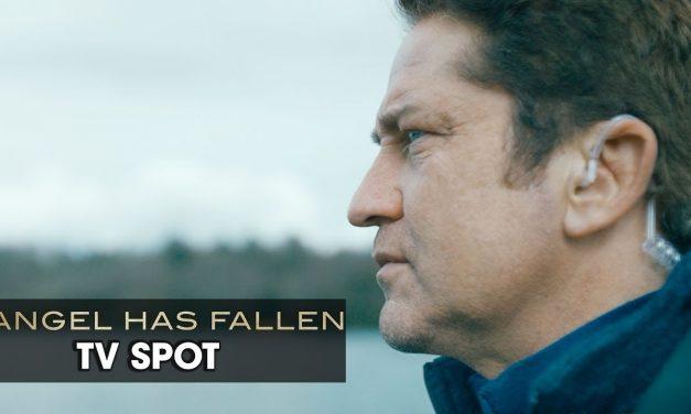 "Angel Has Fallen (2019 Movie) Official TV Spot ""DAYS FRANCHISE"" — Gerard Butler, Morgan Freeman"